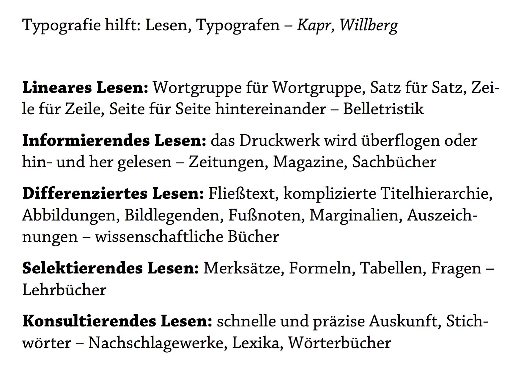 Typografie hilft (Vortrag), Frau Borinski und die Typografie